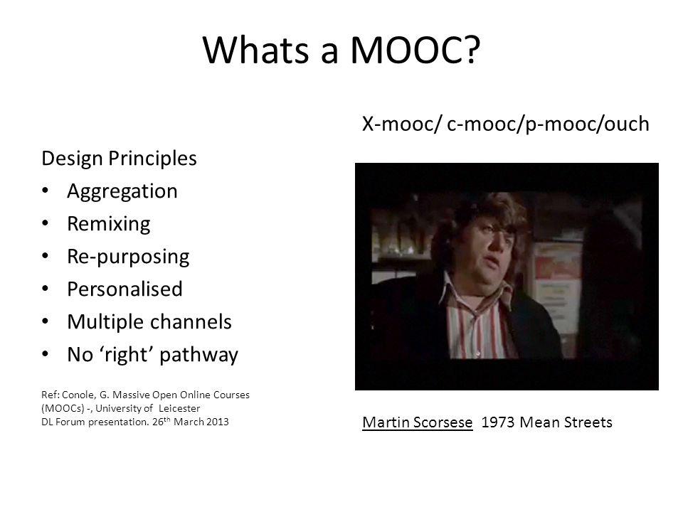 Whats a MOOC.