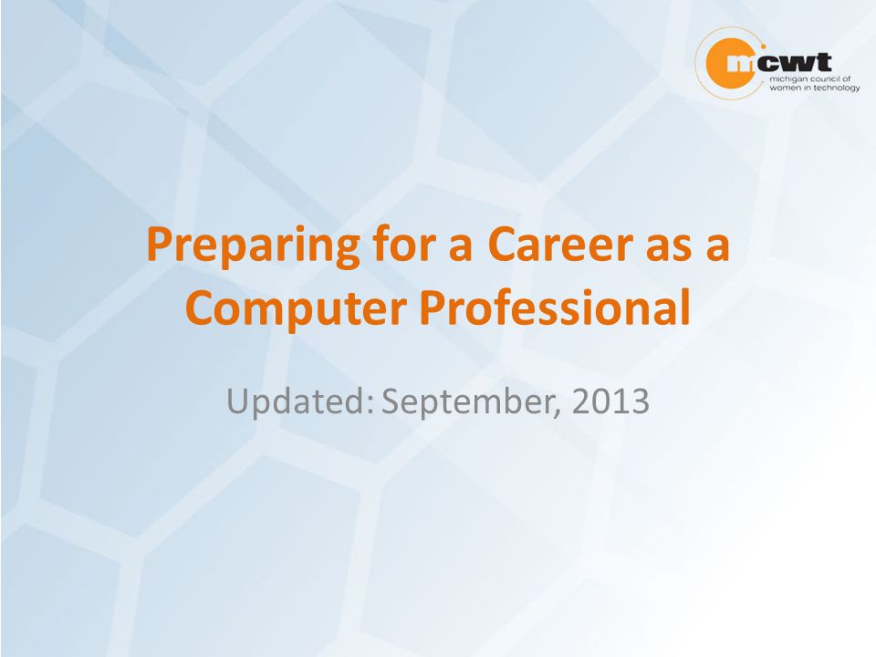 Table of Contents Types of computer careers Why choose a career focused on computers.