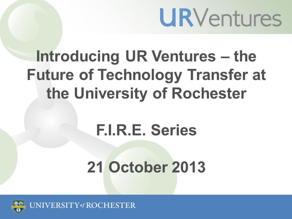 Brand Launch and New Approach Scott Catlin AVP, Technology Ventures October 21, 2013