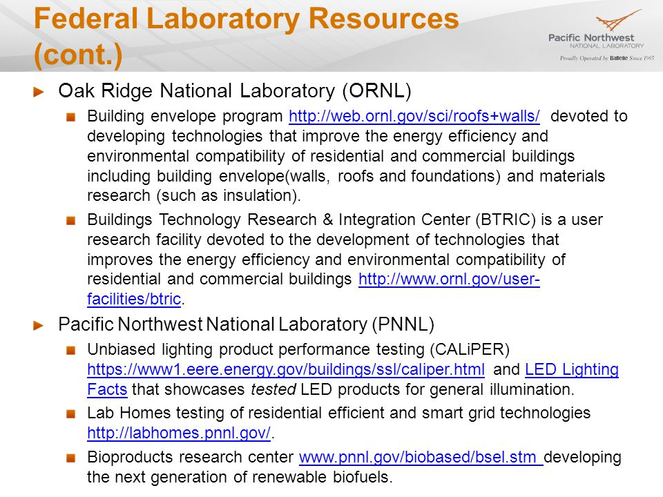 National & Regional Private Sector Resources Gas Technology Research Institute (GTI) GTI develops natural gas-fired technology-based energy efficiency solutions for industry, government, and consumers www.gastechnology.orgwww.gastechnology.org Consortium for Energy Efficiency (CEE) CEE is a consortium primarily of efficiency program administrators from across the United States and Canada.