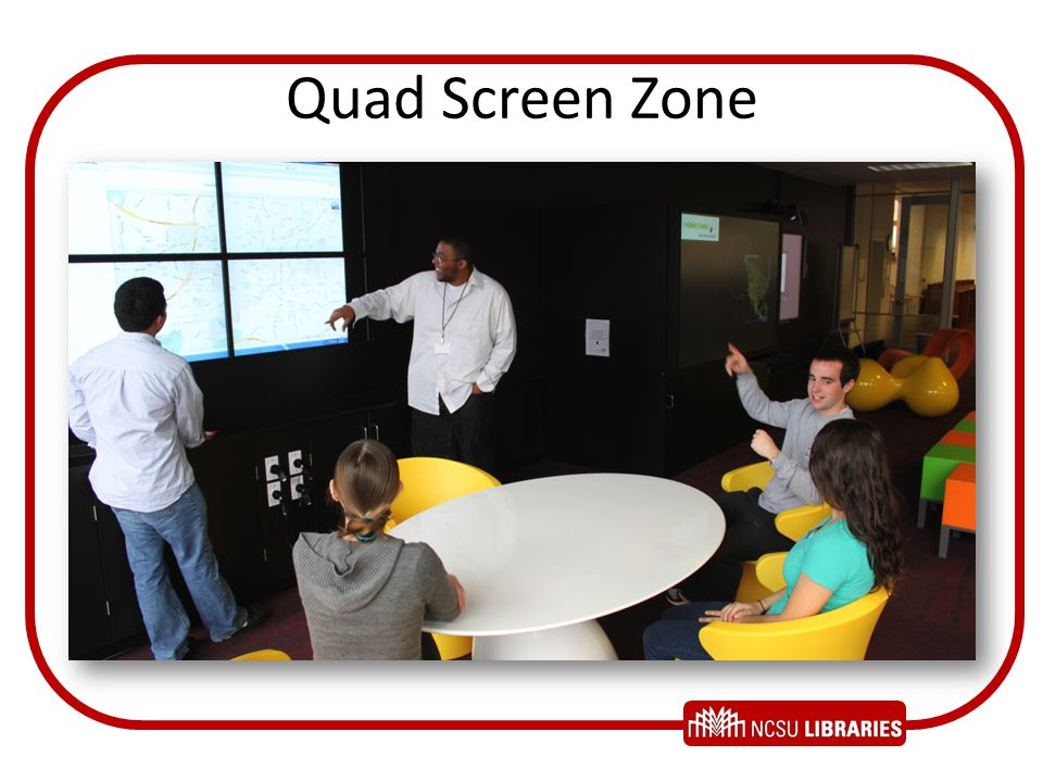 Quad Screen Zone