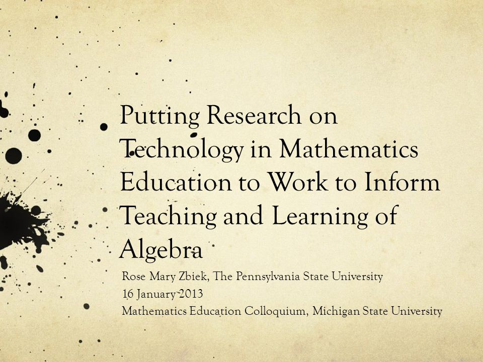 And the story continues… Thank you! rmz101@psu.edu Research Practice