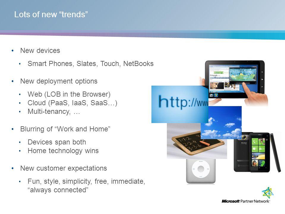 New platforms: The Cloud