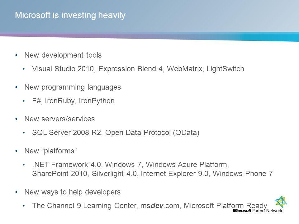 New platforms: SharePoint 2010
