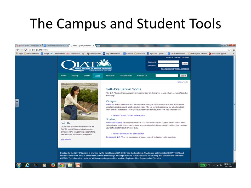 The Campus and Student Tools