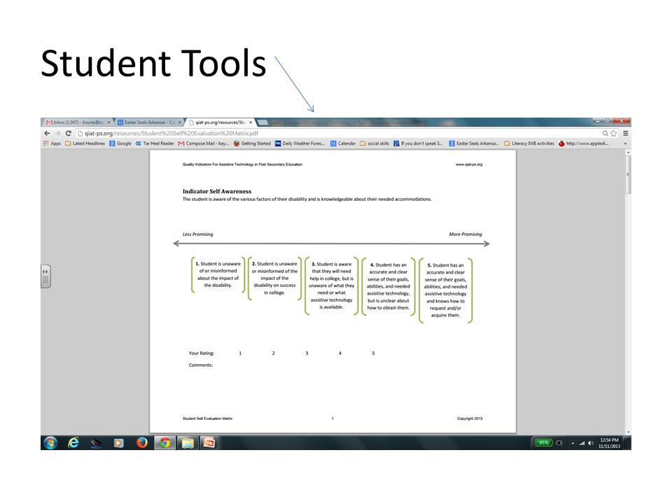 Student Tools