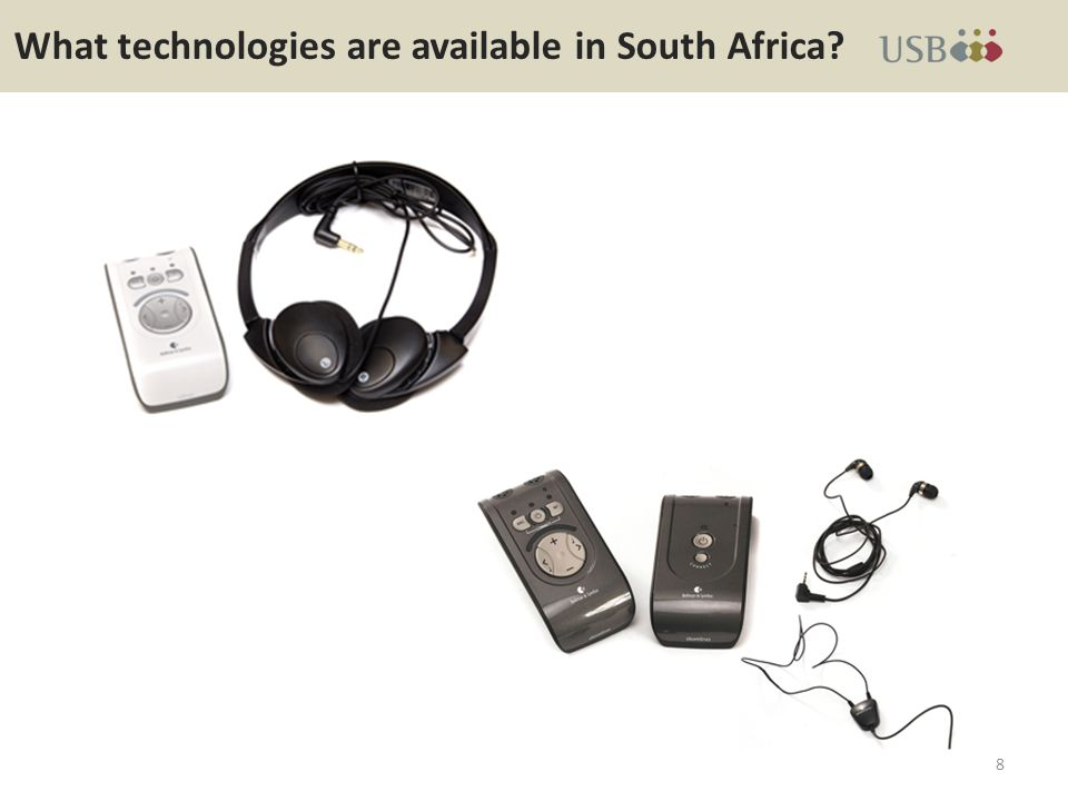 What technologies are available in South Africa 8