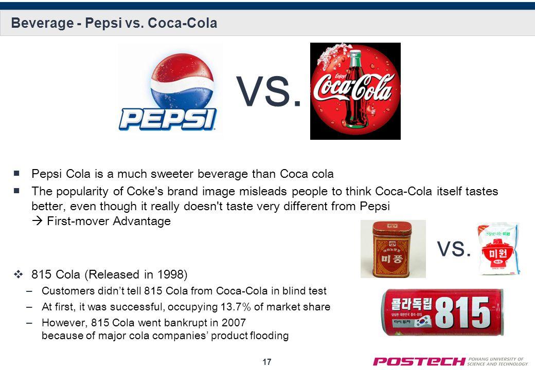 17 Beverage - Pepsi vs.