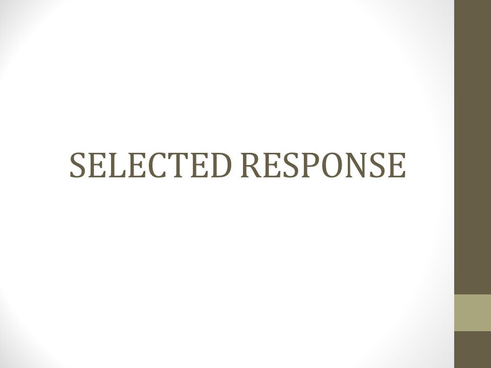 Essential Requirements of Selected Response and Constructed Response Items Alignment to claims and assessment targets Appropriate content and contexts Proper presentation: clarity, readability, and accessibility Stimulus text is at or below the assessed grade level for assessed claim Free of bias issues Claim 1 and 4 constructed responses require support Plausible distractors Distractors represent common mistakes