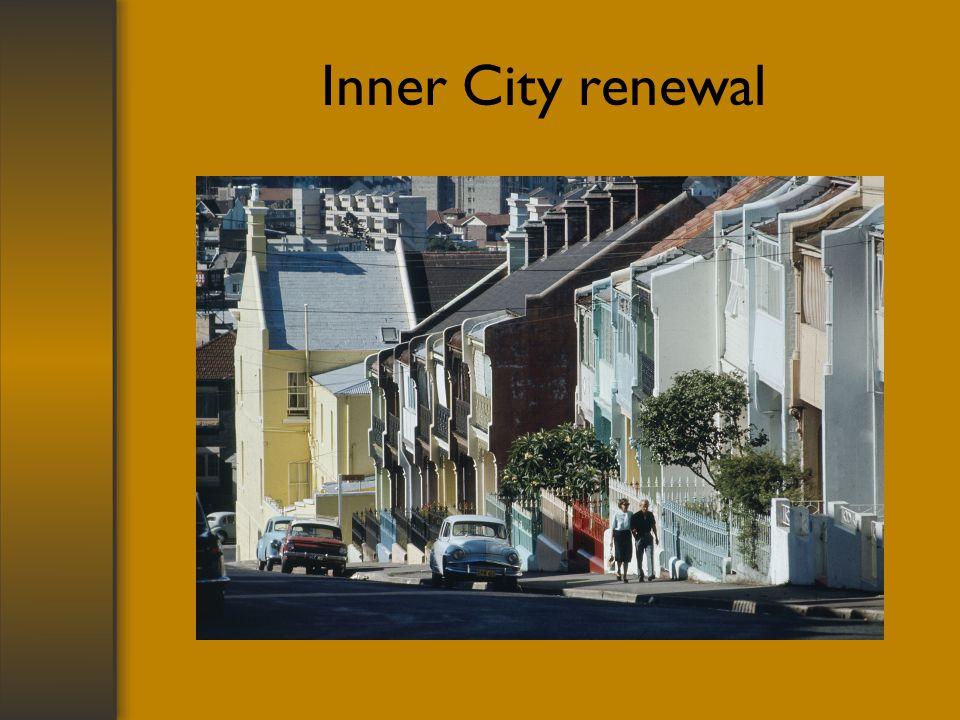 Inner City renewal