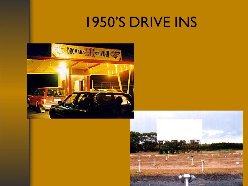 1950S DRIVE INS