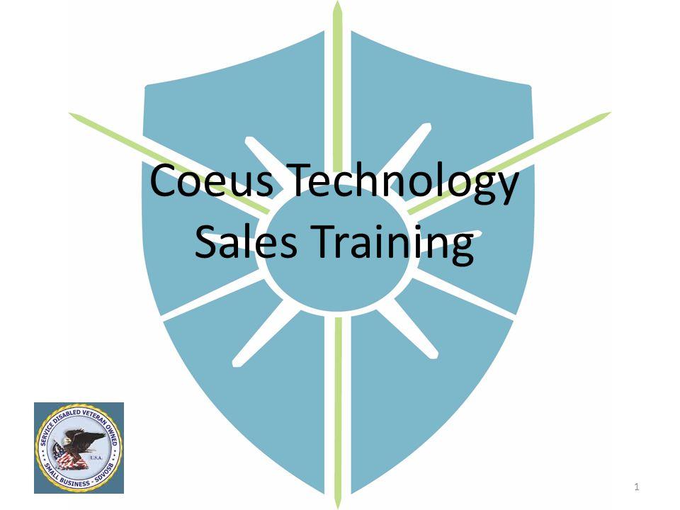 Coeus Technology Sales Training 1