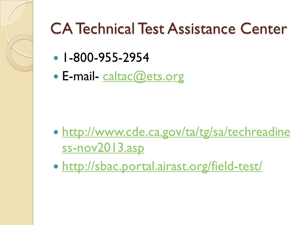 CA Technical Test Assistance Center ss-nov2013.asp   ss-nov2013.asp