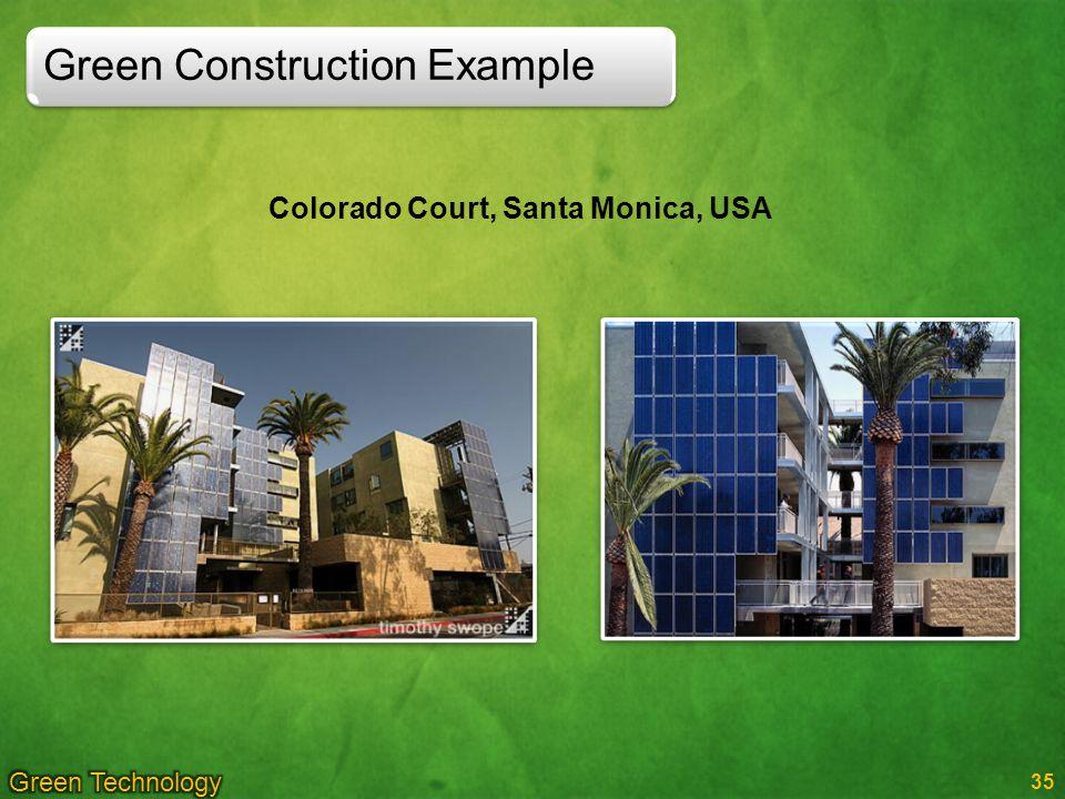 35 Colorado Court, Santa Monica, USA Green Construction Example