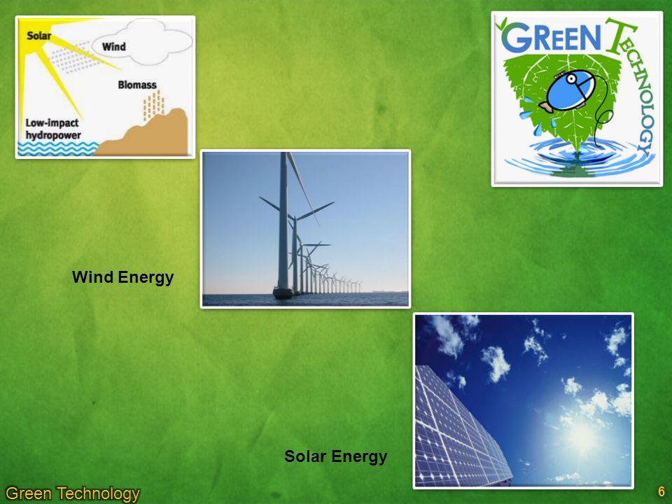 6 6 Wind Energy Solar Energy