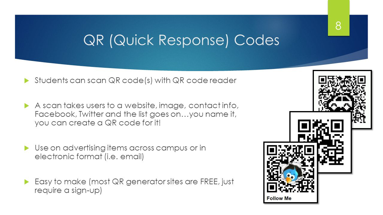 What does the QR stand for in QR code.A. Quick Road B.