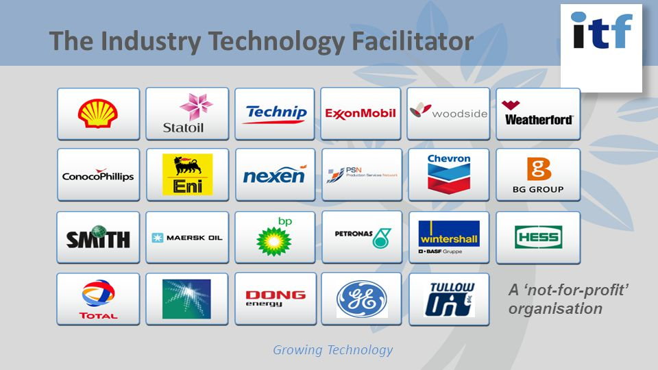Growing Technology The Industry Technology Facilitator A not-for-profit organisation