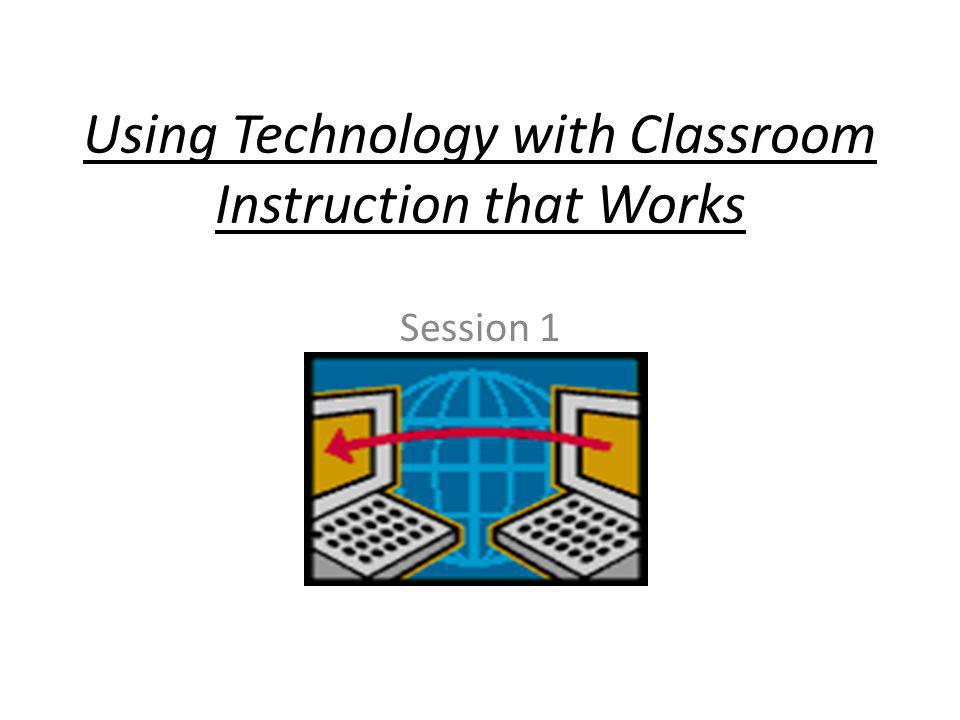 Why Technology Integrating technology provides – An opportunity to differentiate instruction – Help for teachers to create a dynamic learning environment – A tool to increase student learning and understanding – Motivation for student learning – Encouragement for collaboration – Support for the development of critical thinking and problem-solving skills Benefits all students but is especially effective with at- risk and special needs students.