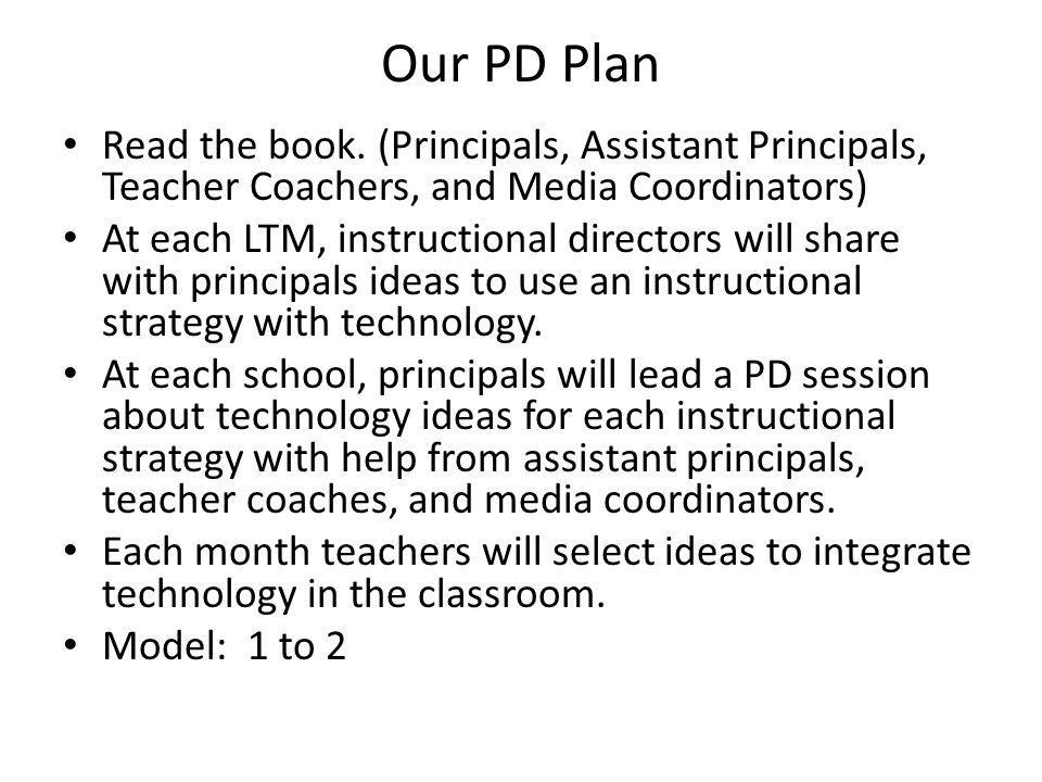 Our PD Plan Read the book.