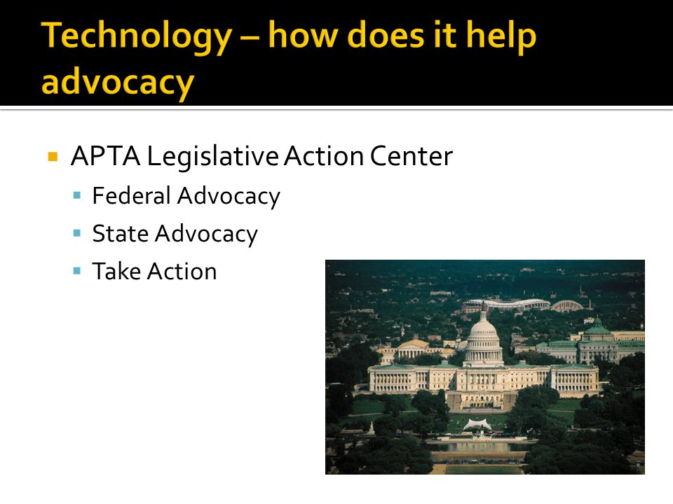 APTA Legislative Action Center Federal Advocacy State Advocacy Take Action