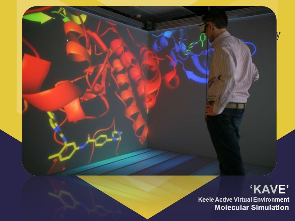 KAVE Keele Active Virtual Environment Molecular Simulation