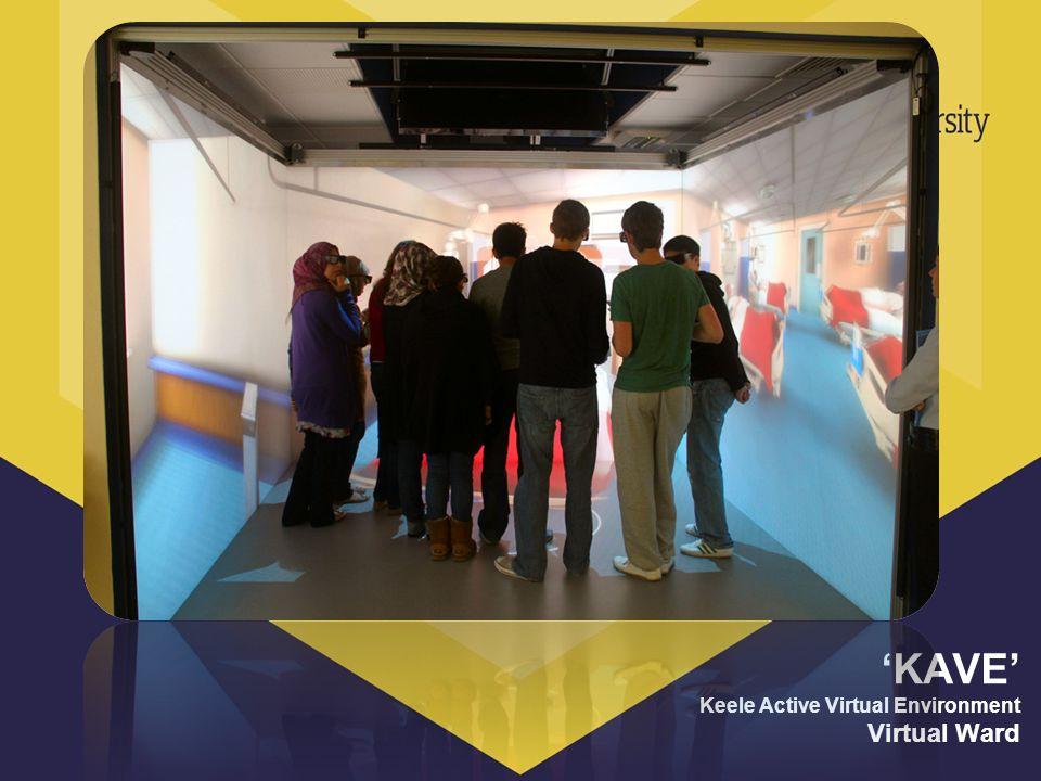 KAVE Keele Active Virtual Environment Virtual Ward