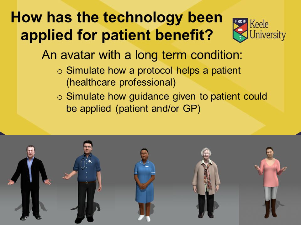 How has the technology been applied for patient benefit.