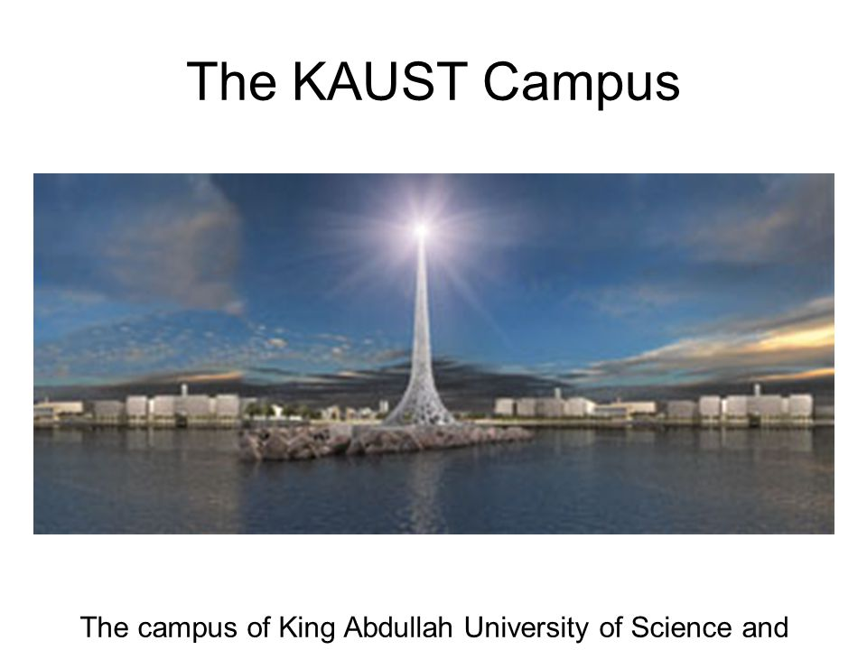 The KAUST Campus The campus of King Abdullah University of Science and Technology.