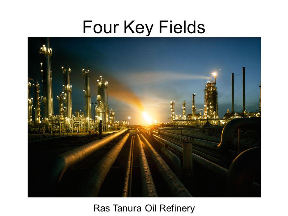 Four Key Fields Ras Tanura Oil Refinery