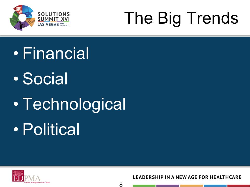 The Big Trends Financial Social Technological Political 8