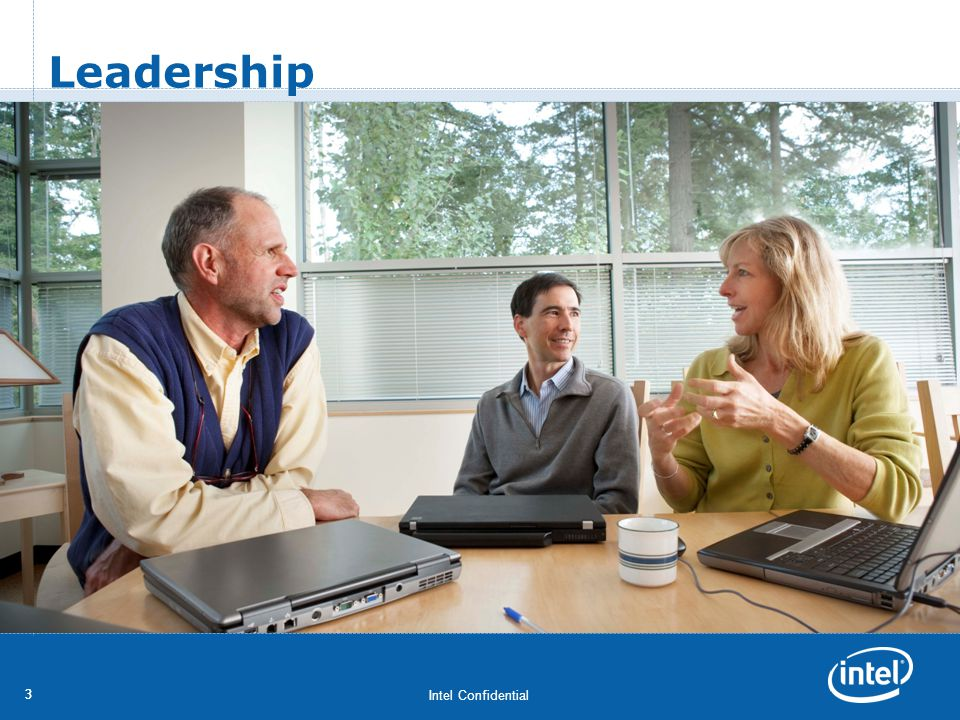 Intel Confidential 33 Leadership
