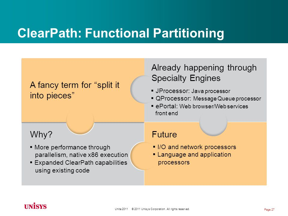 ClearPath: Functional Partitioning Why.