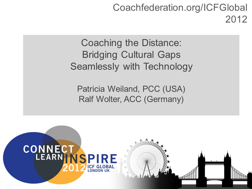 Coachfederation.org/ICFGlobal201212Copyright HPCG®, Sage Strategies 2012 How to Bridge these Gaps.