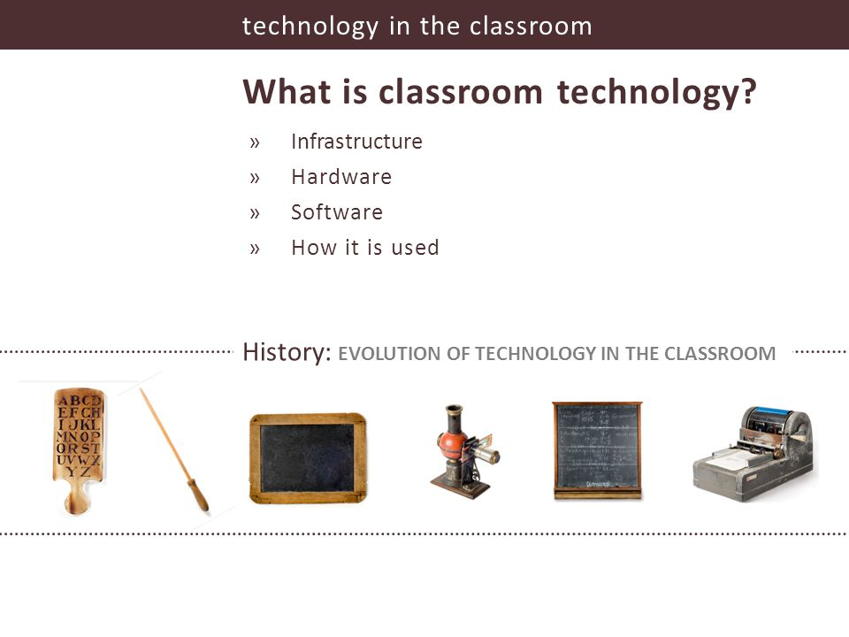 technology in the classroom What is classroom technology.