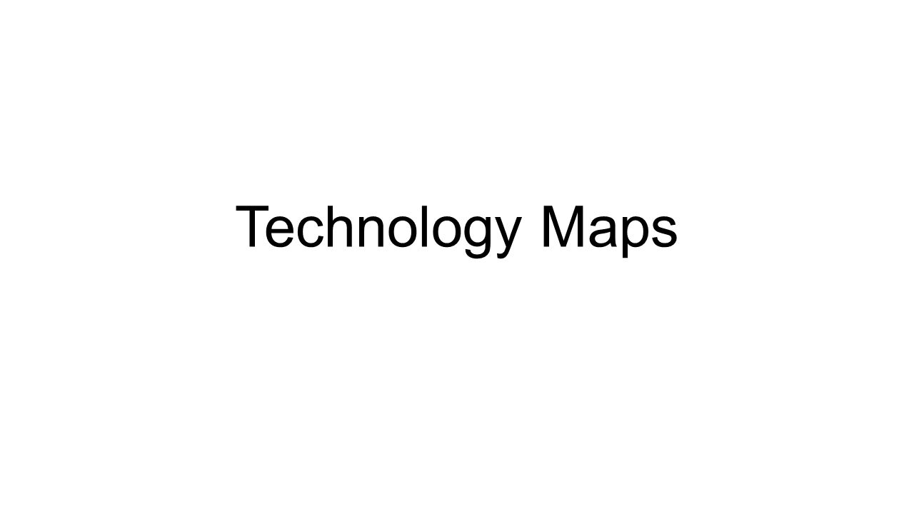 © 2000 Jakki Mohr Technology Maps Define a stream of new products (breakthroughs + derivatives) company plans to develop over time.