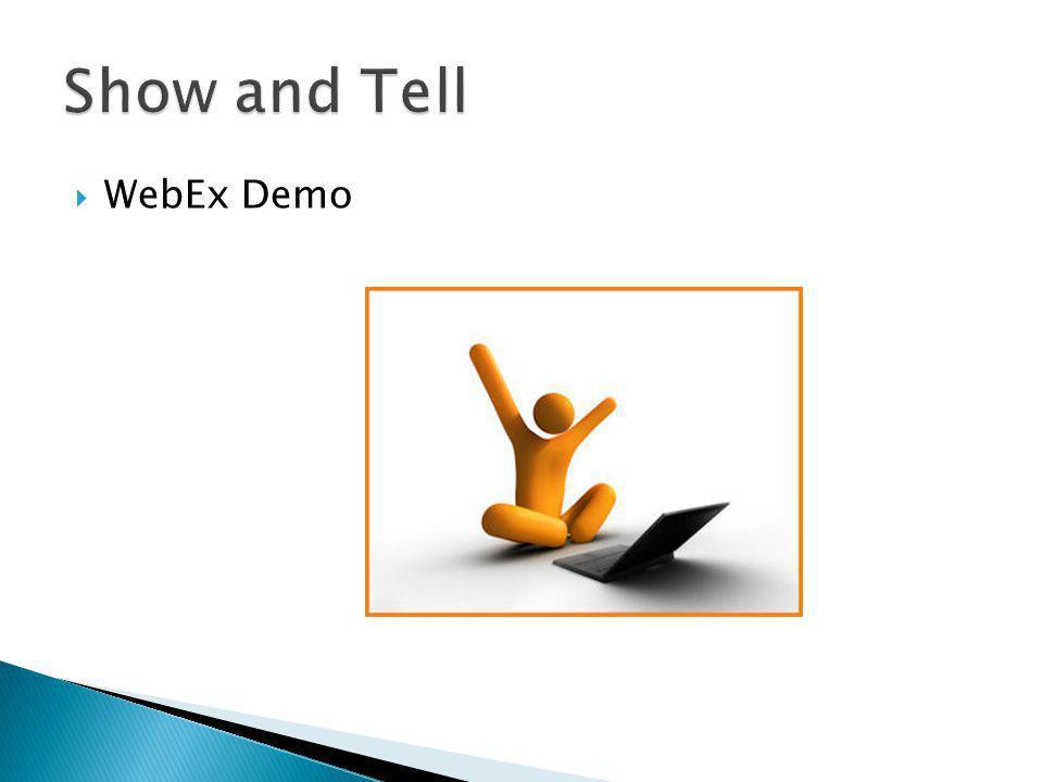 WebEx Demo