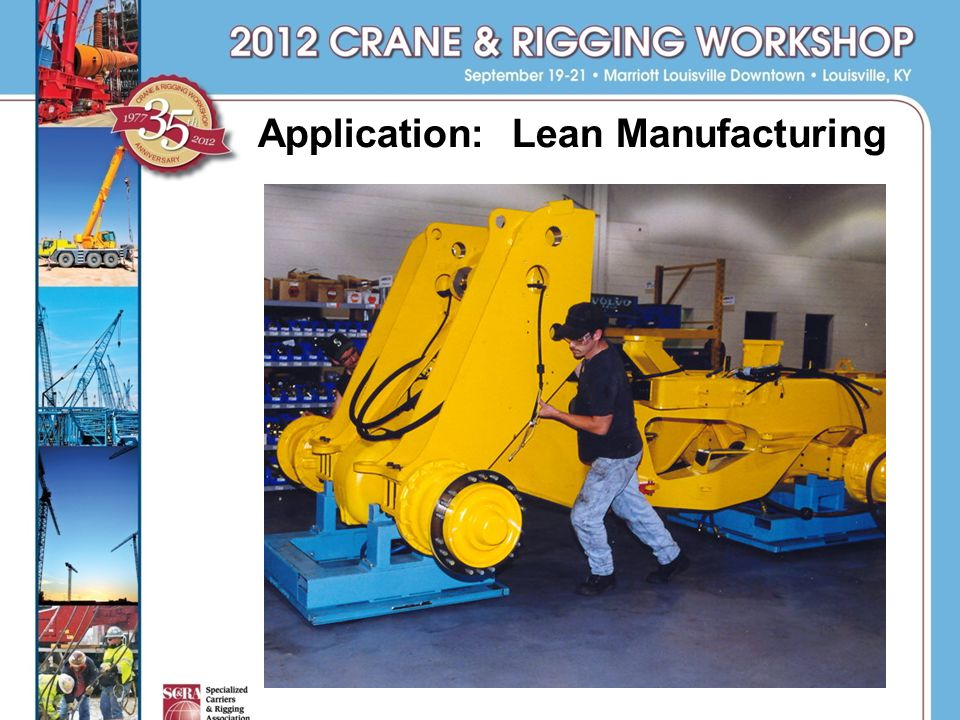 Application: Lean Manufacturing