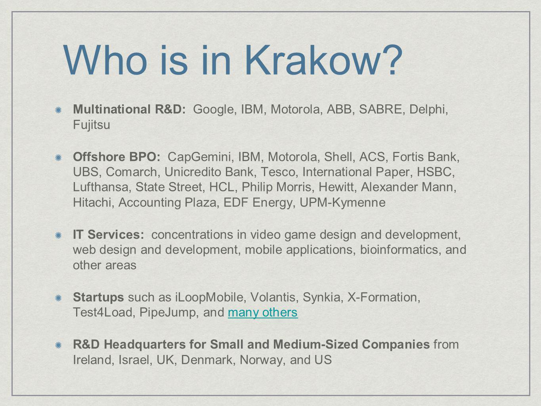 Who is in Krakow.