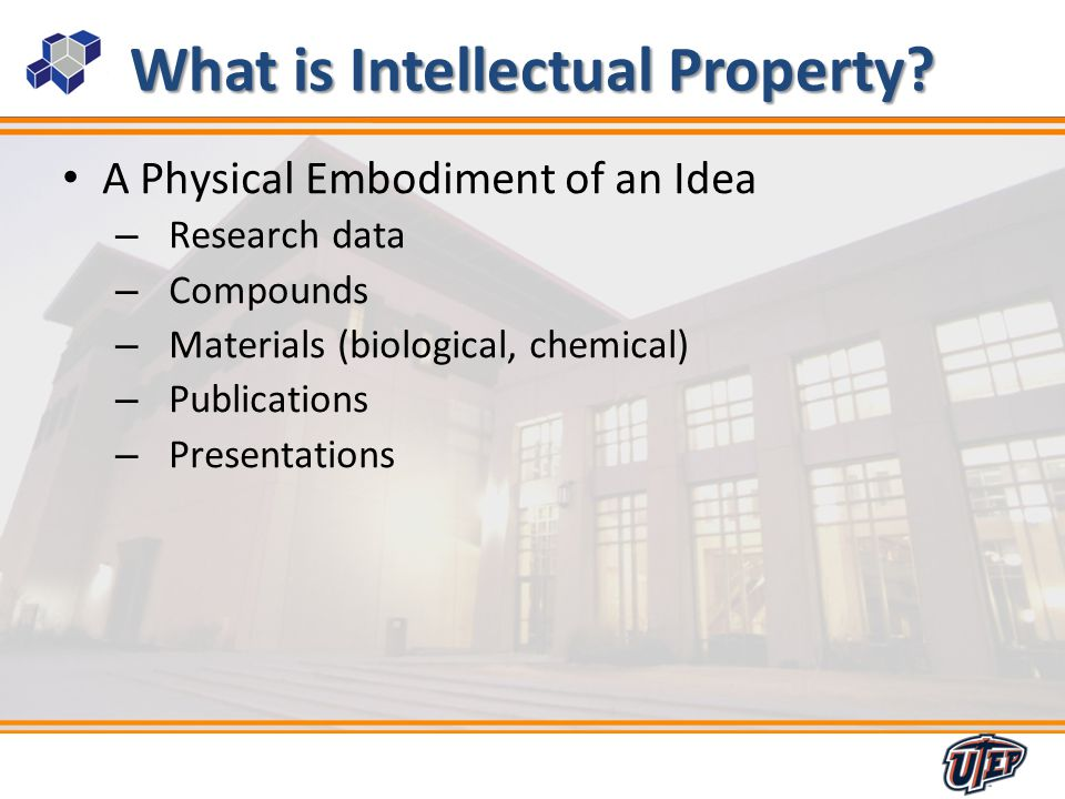 5 What is Intellectual Property.