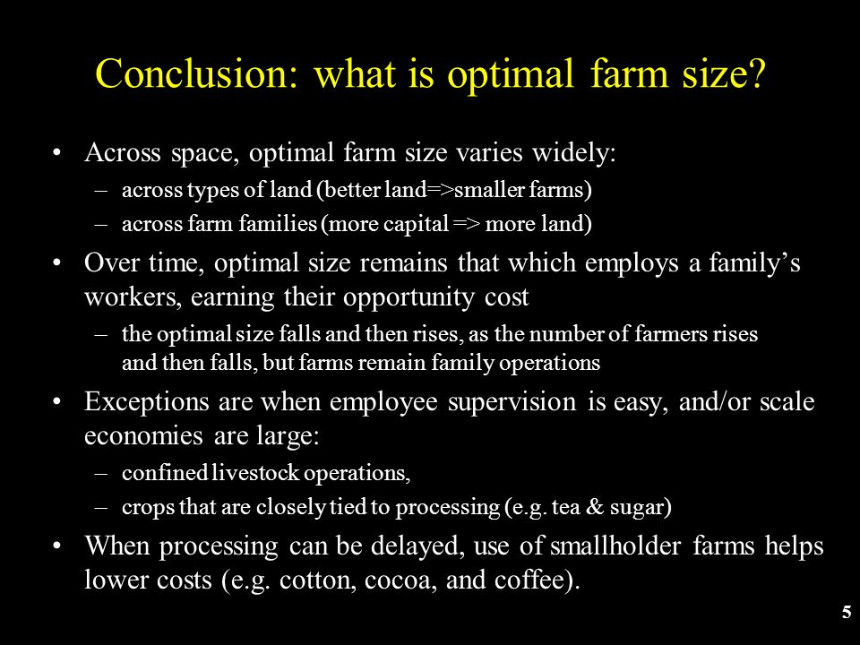 Slide 46 Some more conclusions… In practice: Innovation sometimes responds to incentives –Induced innovation would save increasingly scarce resources, and use increasingly abundant ones –But public action is needed to drive and direct technology Patents and other IPRs where copying is easily detected Public investment where gains are non-excludable (as in much of agricultural research!)
