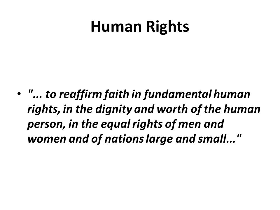 Human Rights Magna Carta (1215) Declaration of Independence (1776) Bill of Rights of the Constitution of the United States (1787) Declaration of the Rights of Man and of the Citizen (1789) Universal Declaration of Human Rights (1948)