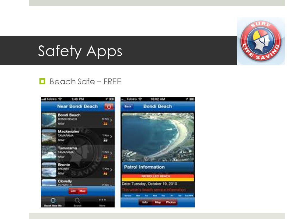 Safety Apps Beach Safe – FREE
