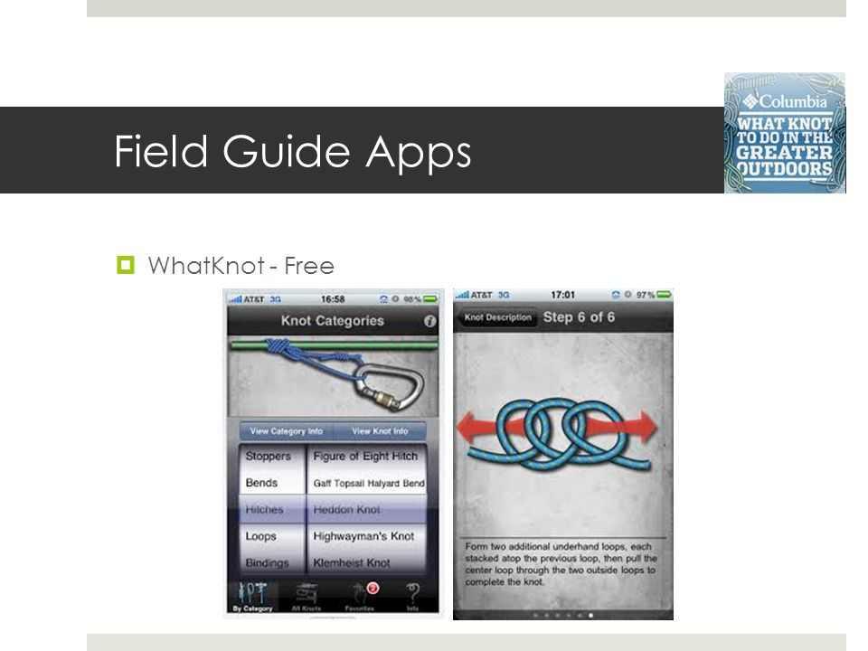 Field Guide Apps WhatKnot - Free