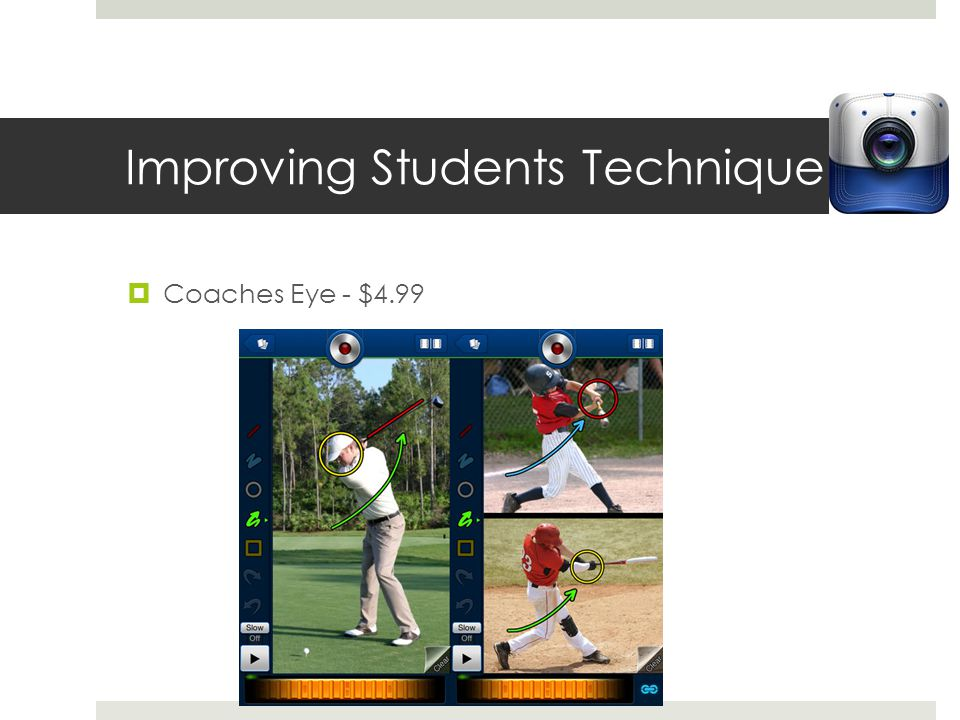 Improving Students Technique Coaches Eye - $4.99