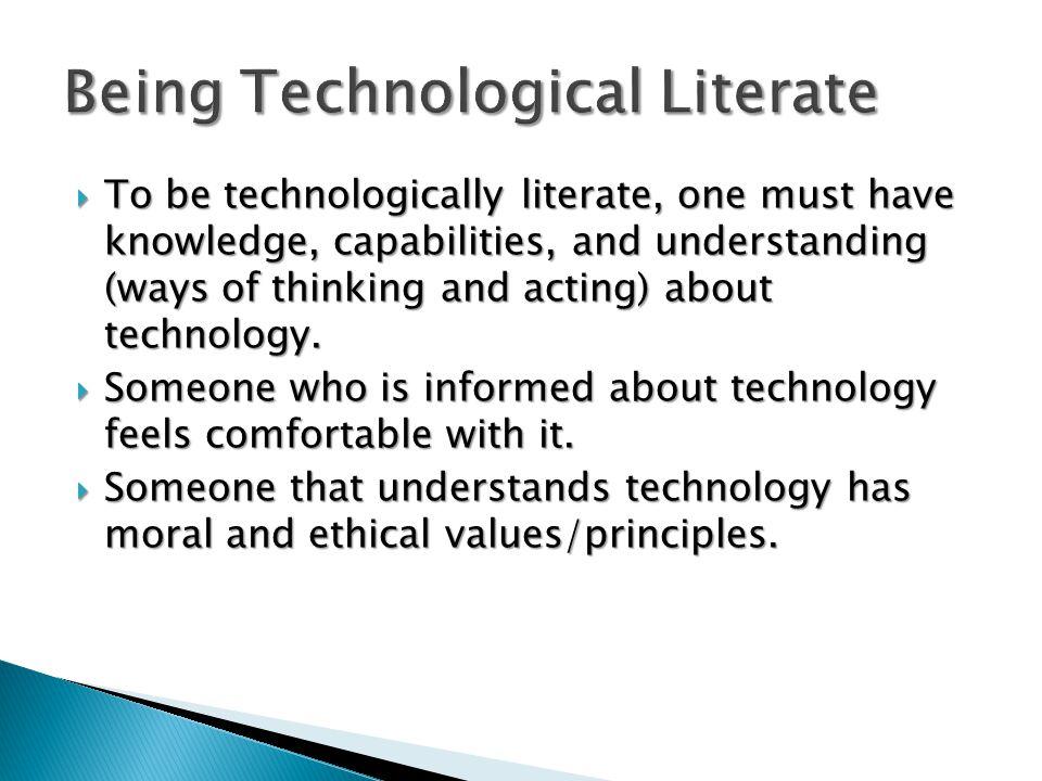 Technology involves people.Technology involves people.