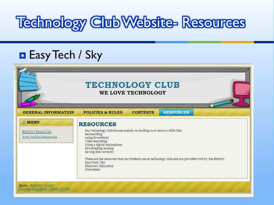 Easy Tech / Sky