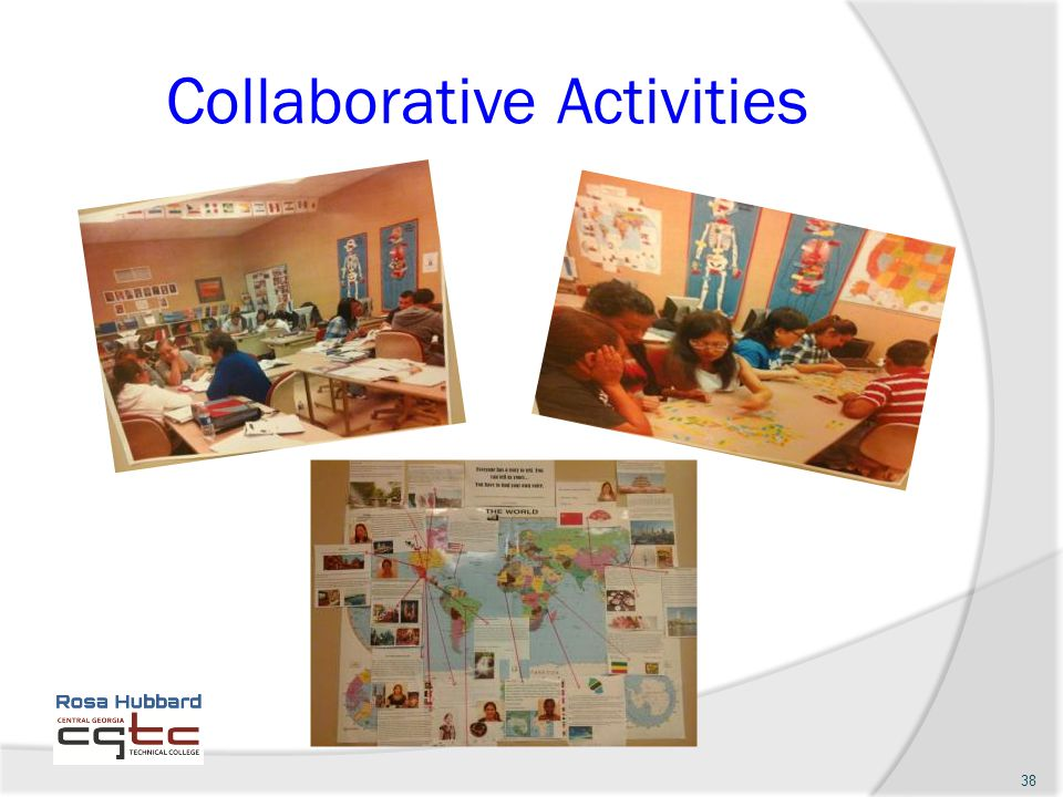 Collaborative Activities 38