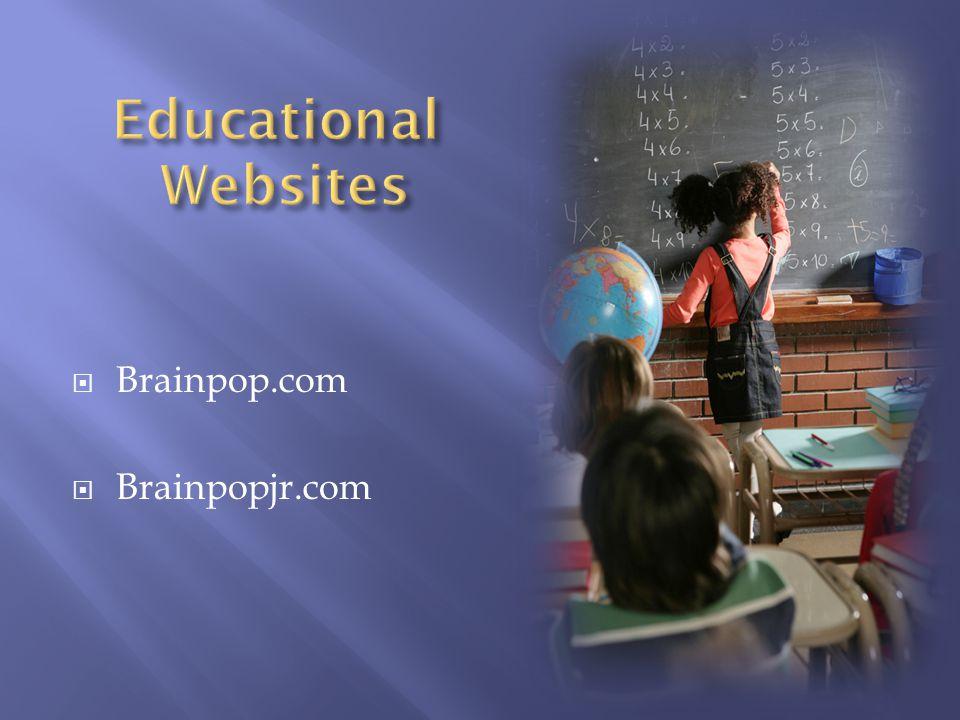 Brainpop.com Brainpopjr.com
