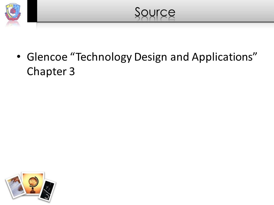 Glencoe Technology Design and Applications Chapter 3