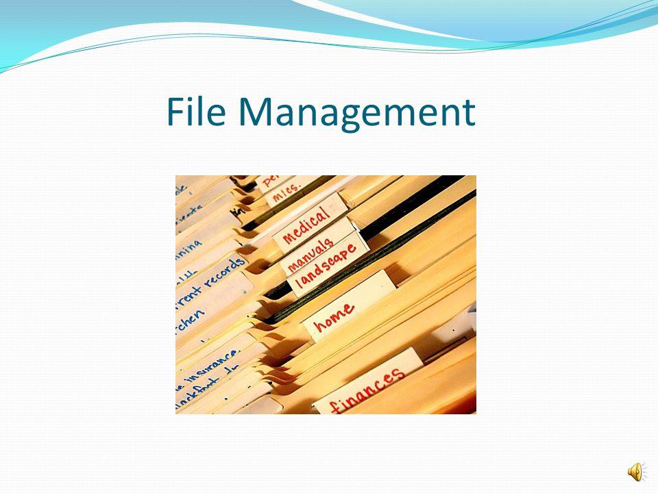 Hal Hill, FileManagement